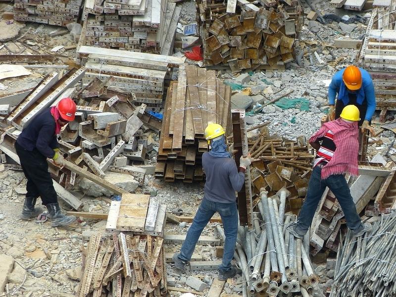 Sur un chantier, le maître d'ouvrage est le premier responsable juridique des déchets